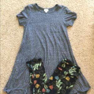 Carly dress & leggings